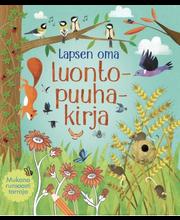 Aurinko Kustannus Rebecca Gilpin: Lapsen oma luontopuuhakirja