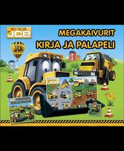 Kids.fi Megakaivurit - kirja ja palapeli