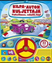 Kids.fi Paula Dronsfield: Kilpa-auton kuljettaja - paikoillanne, valmiit, hep!