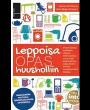 Henriksson, Saara & Leinonen, Anna-Maija: Leppoisa opas huusholliin kirja