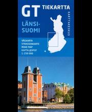 GT Tiekartta Länsi-Suomi