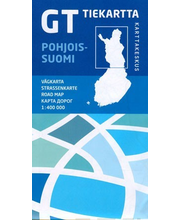 GT Tiekartta Pohjois-Suomi
