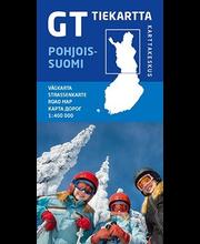 GT Tiekartta Pohjois-Suomi kartta