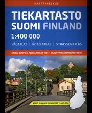 Tiekartasto Suomi kirja