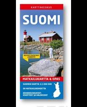 Matkailukartta & Opas Suomi 2018 kartta
