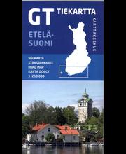 GT Tiekartta Etelä-Suomi kartta