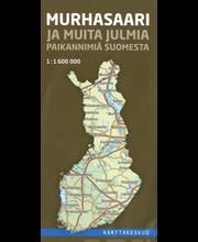 Murhasaari ja muita julmia paikannimiä Suomesta kartta