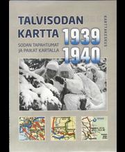 Talvisodan Kartta 1939-1940 kartta