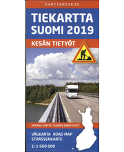 Tiekartta Suomi 2019 kartta