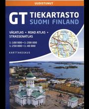 GT Tiekartasto Suomi kartta