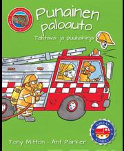 Huikeat koneet: punainen paloauto (tehtävä- ja puuhakirja)