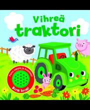 Vihreä traktori (Painonappikirja)