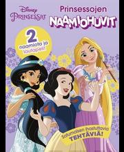 Disney Prinsessat: Prinsessojen naamiohuvit puuhakirja