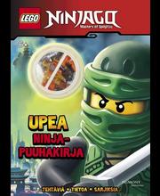 Lego Ninjago puuhakirja legohahmolla