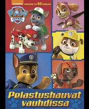 Ryhmä Hau - Paw Patrol Pelastushauvat vauhdissa värityskirja