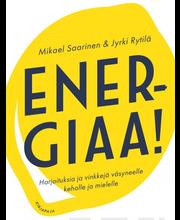 Kirjapaja Mikael Saarinen & Jyrki Rytilä: Energiaa! - Harjoituksia ja vinkkejä väsyneelle keholle ja mielelle