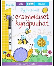Oppi&ilo Pyyhittävät ensimmäiset kynäpuuhat 3-6v