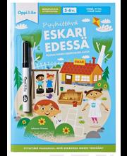 Oppi/Ilo Pyyhittävä Eskari Edessä -Puuhakirja