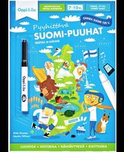 Pyyhittävä Suomi-puuhat 7-10 v
