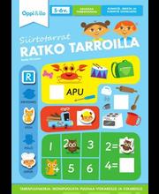 Oppi&ilo Siirtotarrat Ratko tarroilla 5-6v