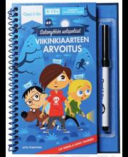 Oppi&ilo Salamyhkän salapoliisit - Viikinkiaarteen arvoitus 8-12v