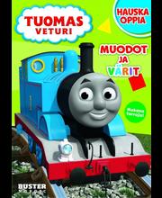 Tuomas veturi - Muotoja ja värejä