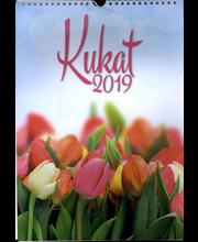 Kukat Seinäkalenteri