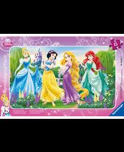 Ravensburger Disney Promenading Princess palapeli, 15 palaa
