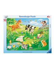 Ravensburger Animals on the Grass palapeli, 35 palaa