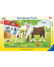 Ravensburger Mare and Foal palapeli, 15 palaa