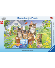 Ravensburger Sweet Kittens palapeli, 15 palaa