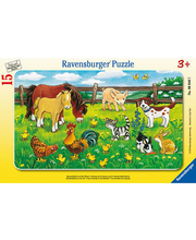 Ravensburger Farm Animals palapeli, 15 palaa