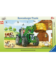 Ravensburger Tractor on the Farm palapeli, 15 palaa