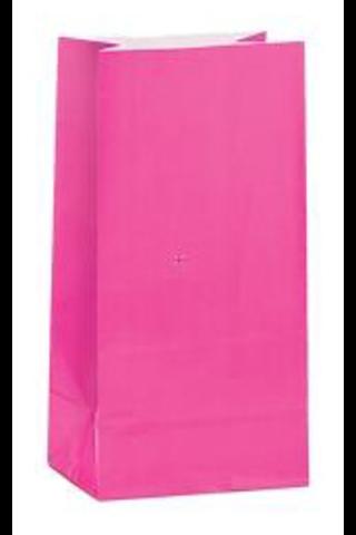 Unique lahjapussi paperia 12kpl vaaleanpunainen