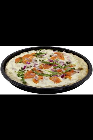 Pizza Biance Salmone