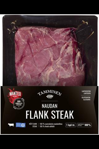 Tamminen naudan flank steak n500g