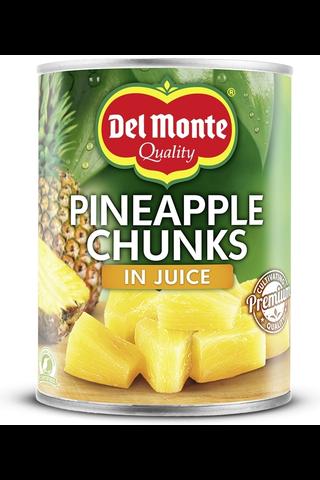 Del Monte 560g ananaspaloja mehussa