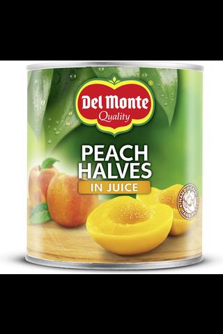 Del Monte 825g persikanpuolikkaat mehussa