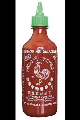 Sriracha 482g -tulinen chilikastike