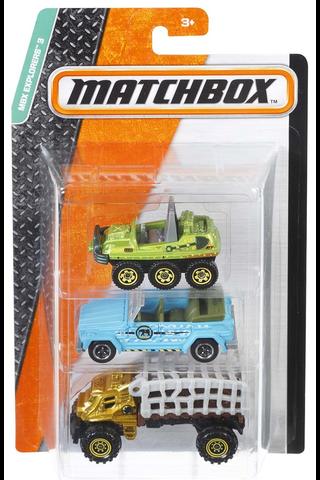 Matchbox diecast 3-pack