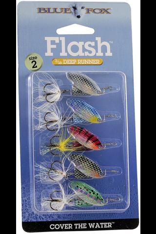 Blue Fox Flash kit 5kpl viehesarja