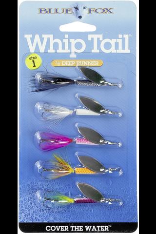 Blue Fox Whiptail kit 5kpl viehesarja