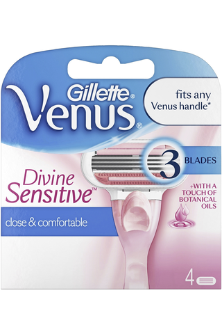 Gillette 4kpl Venus Divine Sensitive terä