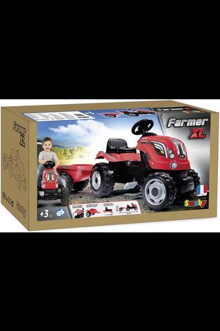 Smoby traktori XL + peräkärry