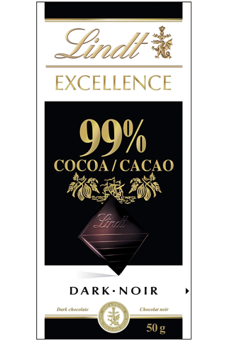 Lindt Excellence 50g 99% tummasuklaalevy