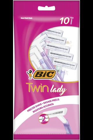 Bic 10kpl Twin Lady varsiterä
