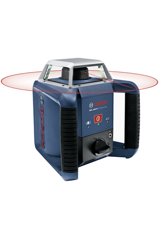 Bosch GRL 400 Professional pyörivä laser + LR1 vastaanotin
