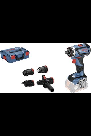 Bosch GSR 18V-60 FC Solo akkuporakone ja L-Boxx tarvikesetti