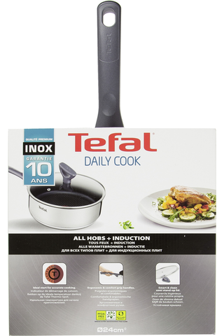 Tefal Daily Cook paistokasari kannella 24cm