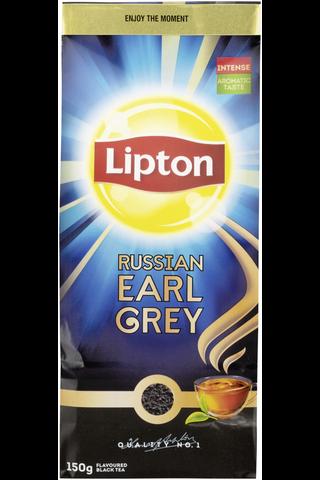 Lipton 150g Russian Earl Grey musta irtotee